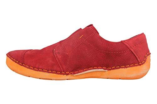Josef Seibel Zapatos de Cuero para Mujer Fergey 88 59688-869, Talla:37 EU, Color:Rojo