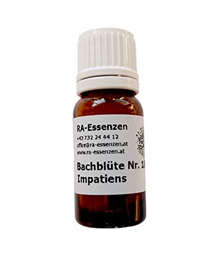 Bachblüte Nr. 18 Impatiens, 10g Bio-Globuli, radionisch informiert - in Apothekenqualität