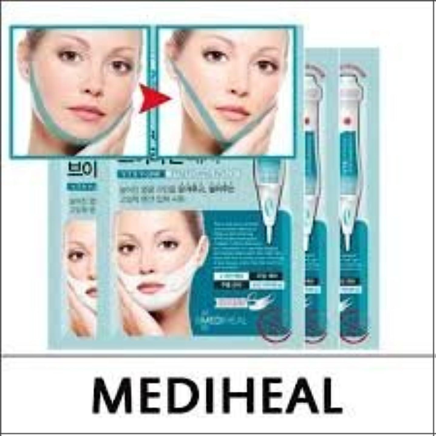 円形経済セメントMEDIHEAL VTR V Stretching Patch 20mlX4pcs/A.R.P Neck Patch/100% Authentic Korea Cosmetic (VTR V-Line Stretching Patch) [並行輸入品]