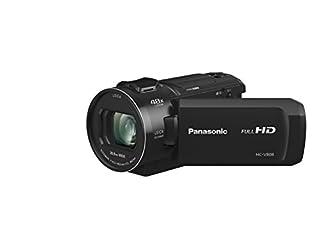 Panasonic HC-V808EG-K Full HD Camcorder (LEICA DICOMAR Lens, Full HD 50p Video, 24x opt. Zoom, opt. Image Stabilizer, WiFi, Wireless Twin Camera) (B078YCVCF3)   Amazon price tracker / tracking, Amazon price history charts, Amazon price watches, Amazon price drop alerts
