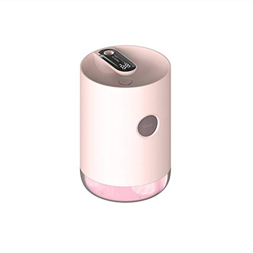 Humidificador 1000ml Holidificador de aire para el hogar portátil 3000mAh Inalámbrico USB Aroma Agua Difusor Difusor Difusión de la batería Mostrar aromaterapia humidificador-rosa Humidificador