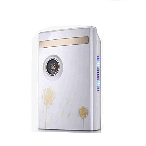 Deumidificatori con serbatoio dell'acqua 1500ml, spegnimento automatico, risparmio energetico, display di umidità digitale, ultra silenzioso piccolo portatile, ideale per umidità e condensa
