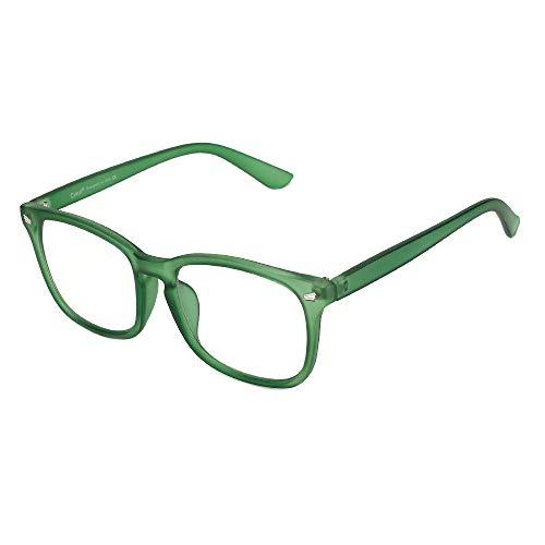 Cyxus Blue Light Filter Computer Glasses for Blocking Headache [Anti Eye Eyestrain] Transparent Lens Gaming Glasses, Unisex (Men/Women)