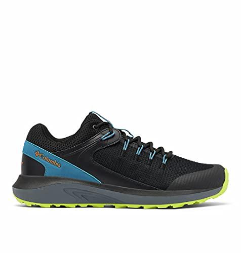 Columbia Men's Trailstorm Waterproof Hiking Shoe, Black/Solar, 11.5