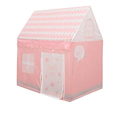 tents Indoor Play, Portable Lightweight House Grow For Kids Children's Dream Kindergarten For Reading(Size:100 * 70 * 108cm,Color:pink)
