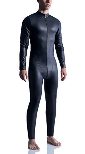 MANstore M510 Allover Suit - hauchdünne Mikrofaser - Fb. Black - Gr.XXL - Limitierte Kollektion