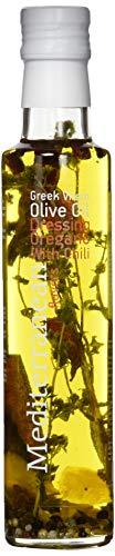 Nature Blessed Mediterrane Aromen Extra Natives Olivenöl mit Oregano & Chili, 250 ml