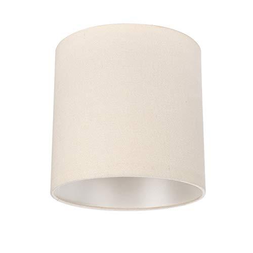SAC d'épaule Sombra de la lámpara de Mesa, lámpara de Mesa de Lino de Dormitorio Lámpara de pie Santa, Adecuada para la lámpara de Puerto de Tornillo E27 Shade