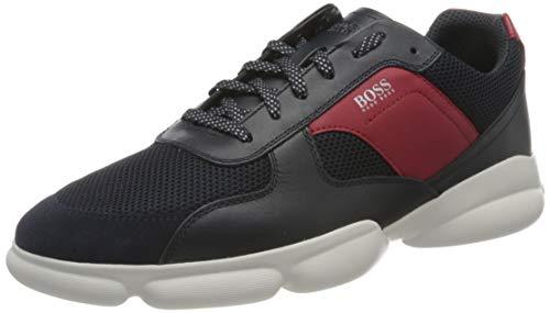BOSS Herren Rapid_Runn_melt Sneaker, Dark Blue406, 43