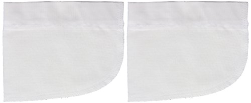 Dritz 55457-61 Repair Pockets, Iron-On, White (2-Count)
