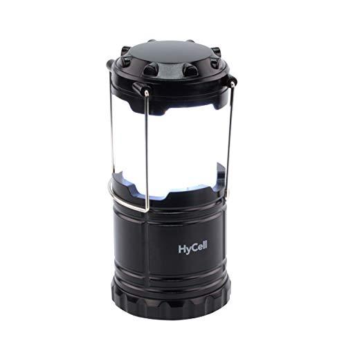 HyCell CL30 Led-campinglamp, werkt op batterijen, handige lamp met niet-verblindende verlichting, ideaal voor festivals, camping, uitrusting, tenten, lezen, tuin of noodverlichting