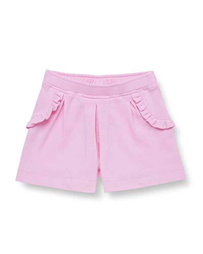 United Colors of Benetton Baby-Mädchen Shorts, Pink (Lilac Sachet 14p), 50 (Herstellergröße: 56)