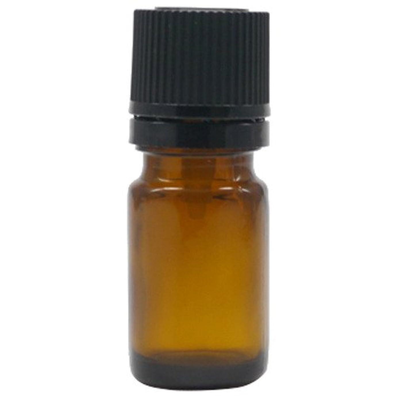 麻酔薬活気づける利益アロマアンドライフ (K)茶瓶5mlドロップ栓黒キャップ 3本セット