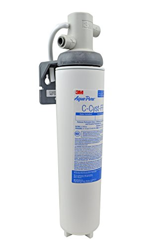 3M Aqua-Pure Under Sink Full Flow Water Filter System Cyst-FF, 5609223, White