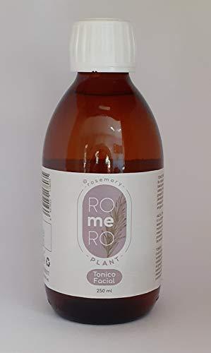 Romero plant. Tónico facial 250 ml. Revitalizante e hidratante, restaura el colágeno de la piel