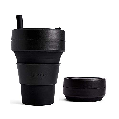 Best collapsible cup with straw by Stojo