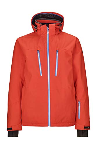 Killtec Herren Aceon Skijacke, orange, XL