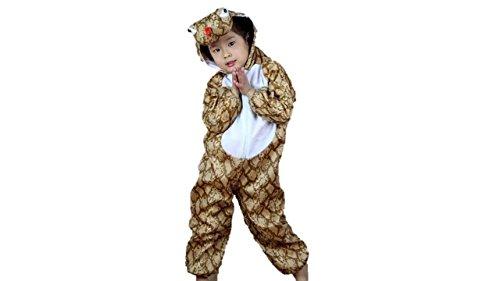 Matissa Bambini Costumi Animali Ragazzi Ragazze Unisex Pigiama Fancy Dress Outfit Cosplay Bambini Onesies (Serpente, XL (per Bambini 120- 140 cm di Altezza))