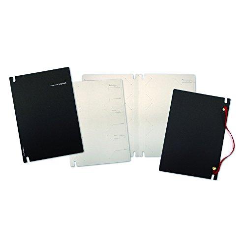 リプラグ名刺ファイルログブック黒レッドB02-061