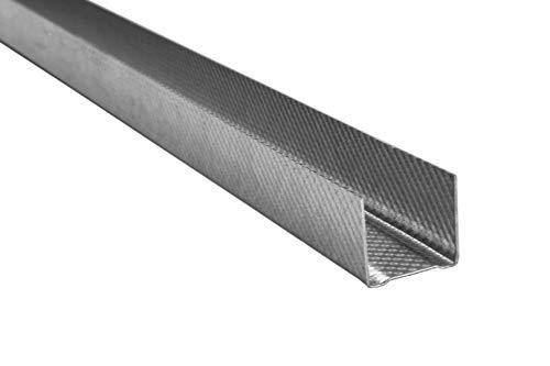 20 Meter | UD Profil | Trockenbau | Decken Wandausbau | 30x27mm | Hexim | UD 27