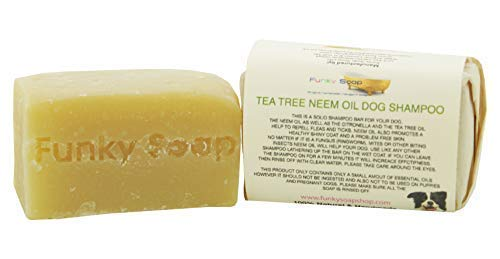 1ud. Árbol del Té& Neem Aceite DOG Shampoo 100% Natural Artesanal 120g