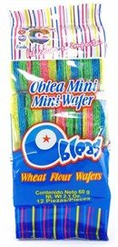 Colorin Mini Wheat  Wafer by Las Sevillanas 2.1 Ounce (3 Pack)