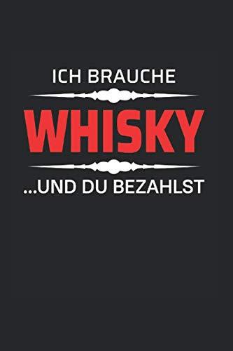 Whiskey Liebhaber Notizbuch: Saufen Bar Kneipe Mische Trinkhemd | Notizheft | Schreibheft | Tagebuch |