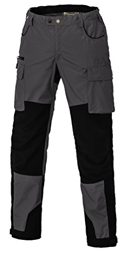 Pinewood Damen Dog Sports Extrem Hose, dunkelgrau/Schwarz, 38