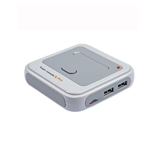Super Console X-Pro 256G Console per videogiochi Retro Console di gioco, 50.000 giochi incorporati, console di gioco classiche palmare per 4K TV HDMI Output, 2 controllori, doppio sistema in console