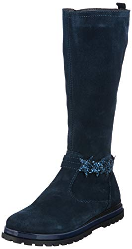 PRIMIGI Mädchen PGM 44407 Hohe Stiefel, Blau (Navy 4440722), 35 EU