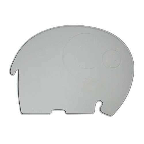 Sebra - Platzdeckchen, Platzset - Fanto der Elefant - Silikon - grau -...