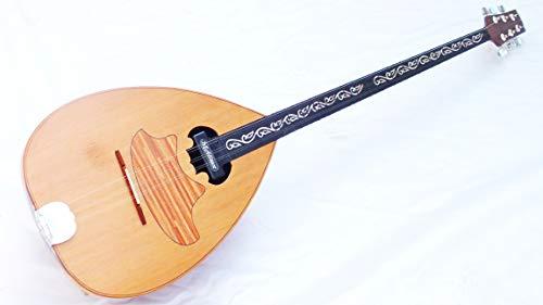 Akustischer arabischer Buzuq mit Mastex-Tonabnehmer.