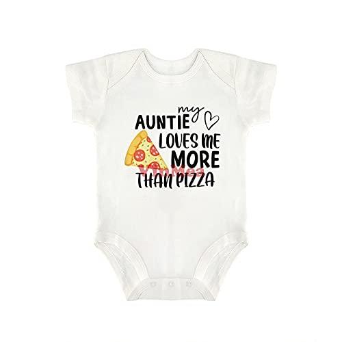 Lindo Body Para Bebé Tía Pizza Baby Onesie,Body Infantil Boy Girl Body