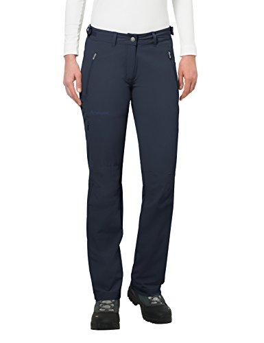 VAUDE Women's Farley Stretch II – Pantalón elástico de senderismo para mujer – color eclipse, talla 34