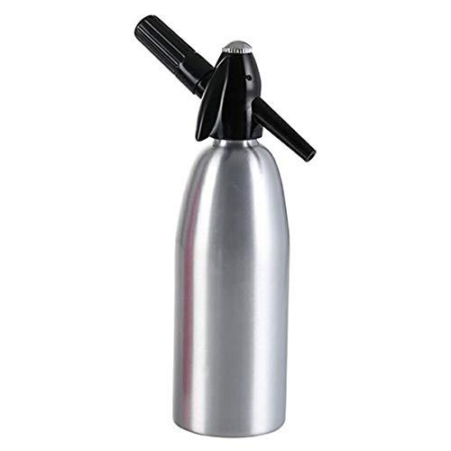 El agua de sifón de soda, soda Inicio máquina eficiente y rápidamente hecho en casa sano agua con gas, duradera y mejorada función metabólica,Gris