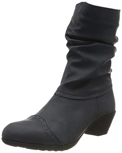Andrea Conti Damen 0616628 Stiefelette, Jeans, 42 EU