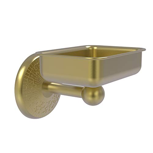 Allied Brass MC-32 Monte Carlo Collection Wall Mounted Soap Dish, Satin Brass