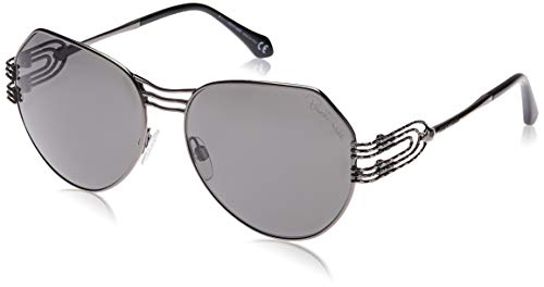 Roberto Cavalli RC1064 08A 58 Monturas de gafas, Gris (Anthracite LucFumo), 58.0 Unisex Adulto