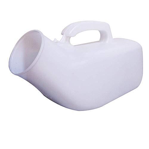 JJZXPJ Orinal urinario tolieto tolieto Olla urinario Masculino urinario catéter urinario, lecho Sentado Anciano Adulto casero Noche niño niño niño orbet (Color : White, Size : 15 * 8cm)