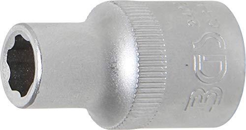 "BGS 2409 | Steckschlüssel-Einsatz Super Lock | 12,5 mm (1/2"") | SW 9 mm | Wellenprofil | CV-Stahl"