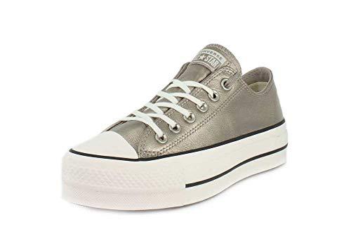 CONVERSE 562776C CTAS Lift ox Gold Gold Sneakers Cordones de