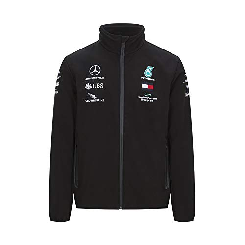 Official Formula One - Mercedes-AMG Petronas Motorsport 2020 - Team Softshell-Jacke - Size: XL