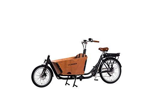 "E-ROCK E Lastenrad ""E-Donkey Plus"" Lastenfahrrad Kindertransport E Bike Transport Elektro Fahrrad mit Transportbox"