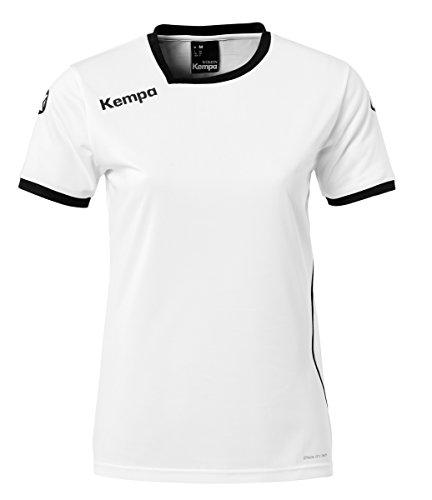Kempa Damen Curve Trikot Women, weiß/Schwarz, L