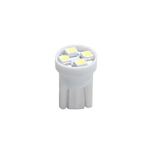 Planet Line PL017W Ampoules LED T10 W5W 4LED Smd3528 12V, Blanc, Set de 2