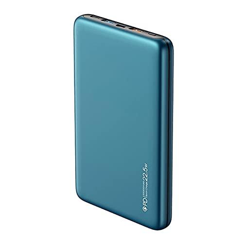 Wdszb 30000mAh Power Bank, PD 20W USB C Cargador portátil 30000 mah Carga rápida Cargador de batería Externa Powerbank 3 Salidas 2 entradas para teléfono Celular i-Phone 12 Pro MAX S-amsung Galaxy