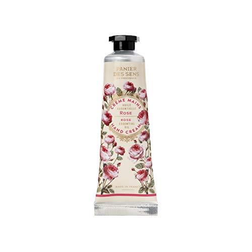 Panier des Sens Crème Mains à l'Huile Essentielle de Rose Régénérante 30 ml