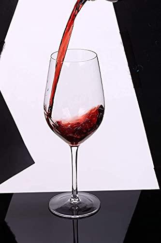 Kristallen wijnglazen Loodvrije mondgeblazen wijnglazen Geschenkset Vaatwasser Paklijst: 6 wijnglazen