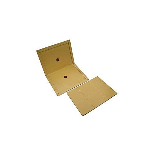 10x - Klebefalle für Ungeziefer - Stark klebend - universelle Verwendung (Braun - Sehr Stark (10 Stück))
