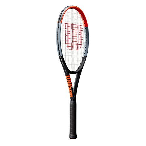 Wilson(ウイルソン)硬式テニスラケット[フレームのみ]CLASH100L(クラッシュ100L)グリップサイズ1オレンジWR008711Sウィルソン